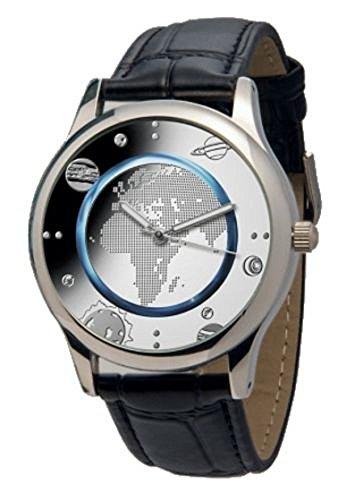 Armbanduhr zur 5 Euro 2016 Münze blauer Planet Erde exklusiv