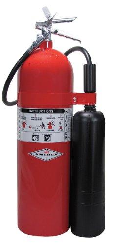 Amerex 331, 15lb Carbon Dioxide Class B C Fire Extinguisher
