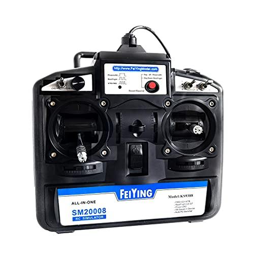 Generic Telecomando 8CH Simulatore di aeroplano USB Elicottero Quad G8 SM600 Trasmettitore /SM20008 Ricevitore MultiCopter Radio Mode1 2.4ghz