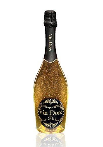 Vino Espumoso con polvo de oro Vin Doré...