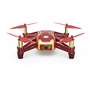DJI Tello Ryze Iron Man Edition - Mini Drone Ideal for Short Videos with EZ Shots, VR Glasses and Game Controllers compatibility, 720p HD Transmission and 100 Meters Range