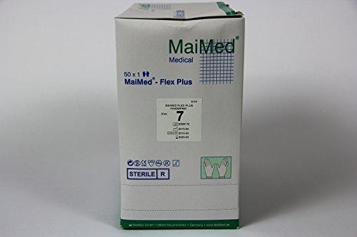MaiMed - Flex Plus OP-Handschuhe Gr. 7 50 Paar