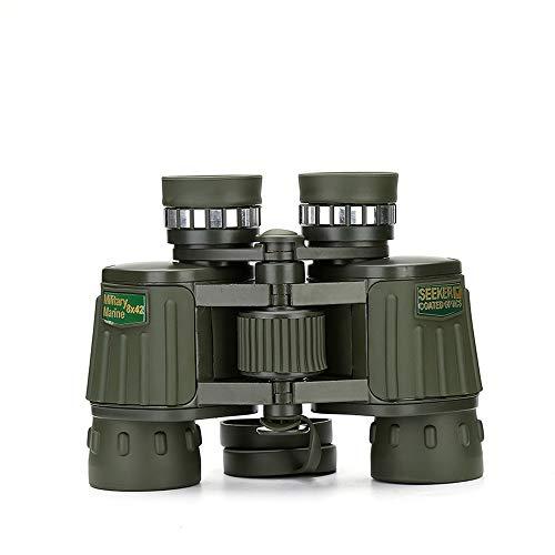 LPLHJD 8x42 Prismáticos binoculares de bolsillo de alta potencia de alta definición binoculares de visión nocturna Estilo ruso es adecuado for la caza y la pesca Observación de Aves de excursión que a
