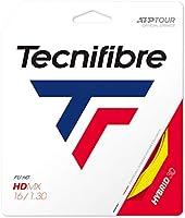 テクニファイバー(Tecnifibre) 硬式テニス ガット エイチデーエムエックス 12m イエロー 1.30mm TFG306