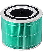 Popular Core 300 True HEPA-vervangingsfilter Fit voor Levoit Air Purifier Core 300, onderdeelnr. Core 300-RF durable (Color : Green)