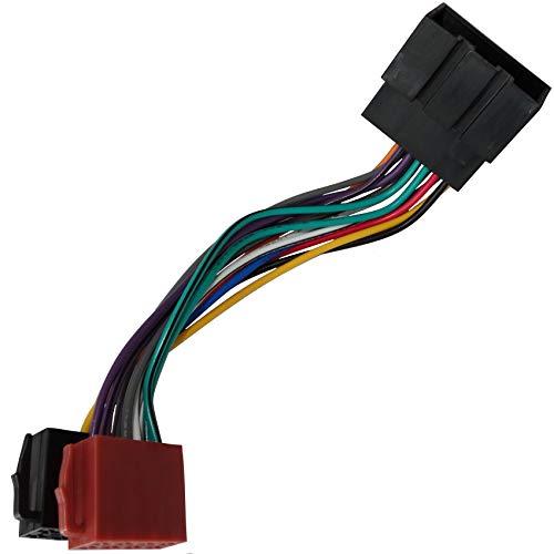 Aerzetix: Adattatore Cavo spina ISO per radio da auto, VEHICULOS c11151