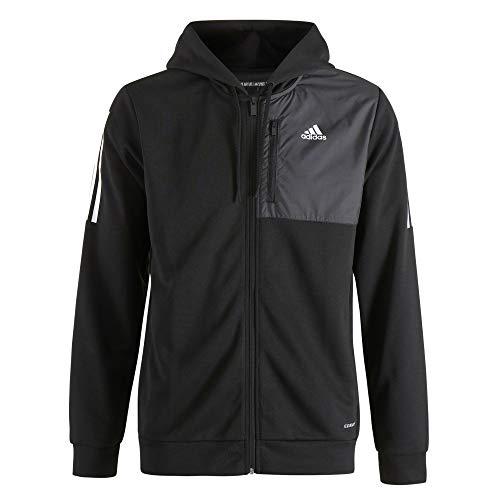 Adidas Męska bluza M MH AERO FZ, czarna, L