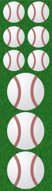 Reminisce Real Sports Chipboard Sticker, Baseball