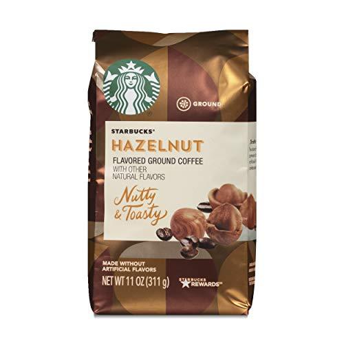 Starbucks Medium Roast Ground Coffee — Hazelnut — 6 bags (11 oz. each)