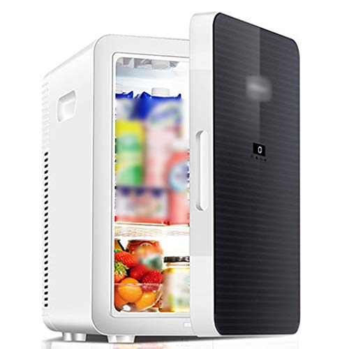 ZYCSKTL Voiture Réfrigérateur Mini Congélation Silencieuse pour Dortoir Étudiant, Réfrigérateur De Voiture À Double Usage De Grande Capacité 20L pour Le Chauffage Et Le Refroidissement