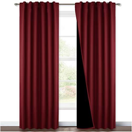 cortina opaca negra fabricante NICETOWN