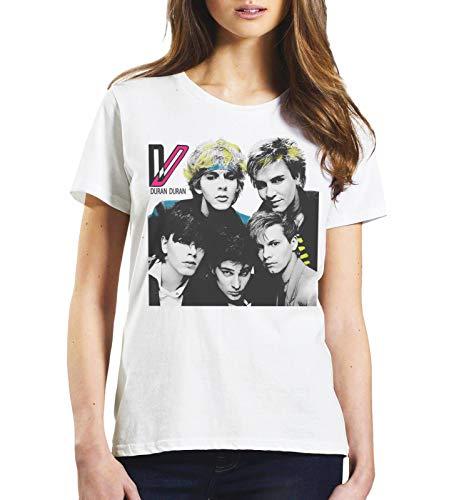 Ladies Duran Duran Wild Boys T-shirt, White, XS to XXL