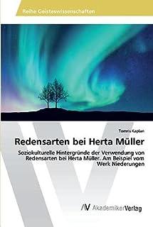 Redensarten bei Herta Müller