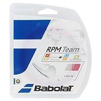 バボラ(Babolat) 硬式テニス ストリング RPMチーム 125/130 BA241108 ピンク 125