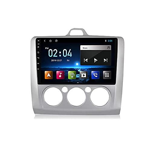 2 DIN Bluetooth Radio Coche Autoradio, con 9 Pulgadas HD Pantalla Táctil, Soporte WiFi Bluetooth Mirror Link FM 1080P Video USB, para Ford Focus 2005-2012,A Octa Core,4G WiFi 2+32
