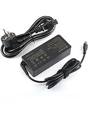 SiKER Caricatore AC USB-C da 65W 45W Adatto per Lenovo ThinkPad T480 T480s T580 T580s Chromebook 100e 300e C330 N23 Yoga C930 C940 C740 S730 730S 910920 13 4 x 20 m 26268
