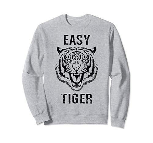 Easy Tiger Trendy Animal Print Graphic Roar Sweatshirt