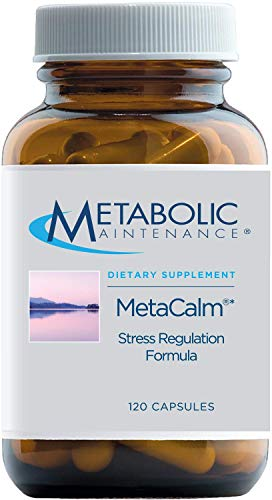Metabolic Maintenance MetaCalm - Sleep + Mood Support Supplement - Synergistic Complex with Folate, Magnesium, GABA, 5…