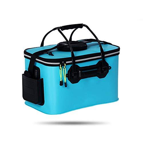 Faltbare Fischbox für den Außenbereich - Mehrzweck-Feldgerätebox, tragbarer Faltbarer Waschbecken-Wassertank, Camping, Tourismus, perfekt für Angler.