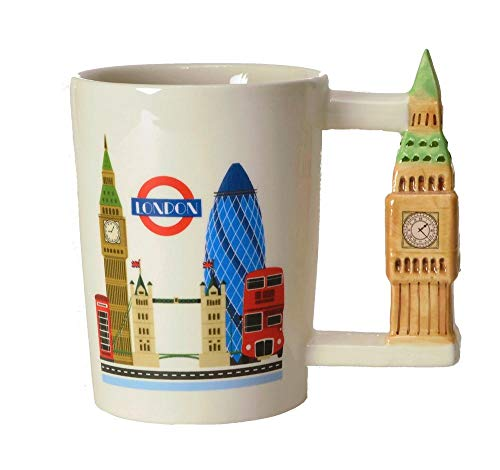Big Ben - London Kaffeebecher mit Turm als Griff - London - Big Ben Kaffeetasse