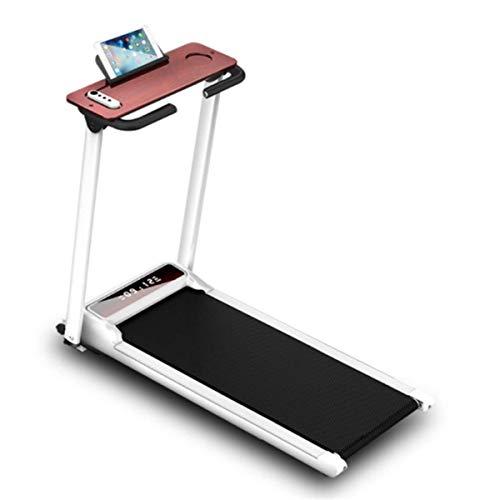 DLILI Cinta Correr Home Gym Office Walkpad 6 Km/H Protección articulaciones Tech Aplicación teléfono Inteligente Altavoz Bluetooth Caminar Compacto Carga máxima 100 kg RunningMachine1121