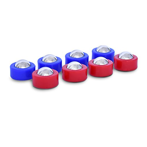 Why Choose GoSports Shuffleboard and Curling Mini Rollers Replacement Set of 8 Rollers