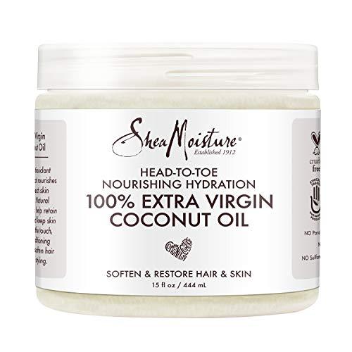 Shea Moisture Extra Virgin Coconut Oil Head to Toe Nourishing Hydration, 450 ml