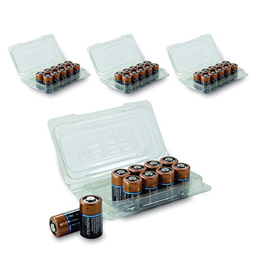 Duracell CR17355 High Power Lithium Batterie CR 2 (4 x 10er Box) Schwarz/Kupfer