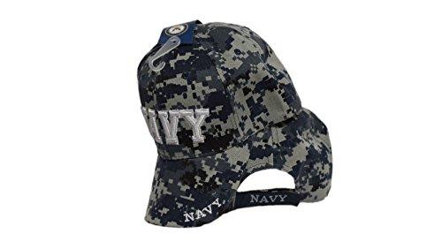 MWS U.S Navy NWU Camo Camoflauge Cap 3D Embroidered Licensed Hat cap602dc 4-01-C