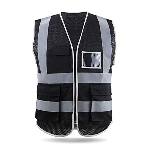Hycoprot Mesh Construction Safety Reflective Vest