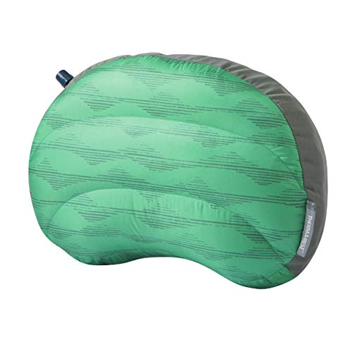 Therm-a-Rest Air Head Down Regular - Sacco a pelo in piuma d'oca, taglia unica, colore verde