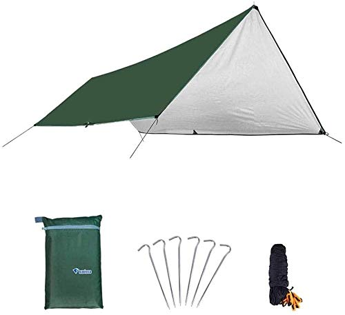LAZ Tent for Camping Outdoor Camping Thickened Beach Pergola Oversized Rainproof Sunscreen Multi-Person Shade