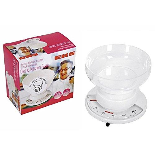 EKS Diät- / Küchenwaage, mechanisch, max. 500g, 15x15,5x15,5cm (1 Stück)