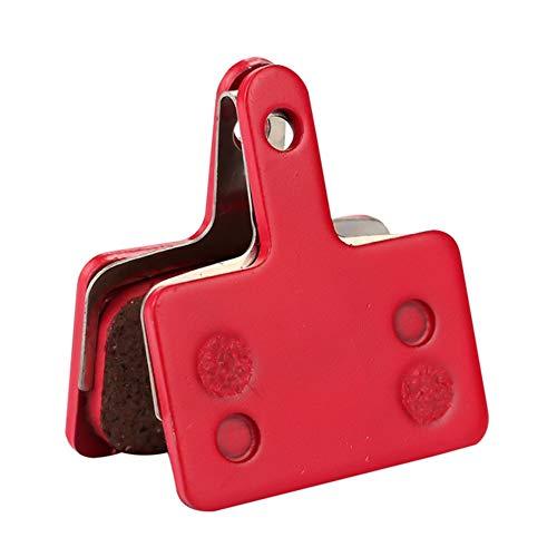 Jullyelegant (P181BP) Pastillas de Freno de cerámica Pastillas de Freno de Disco para Sram Avid MTB Pastilla de Freno hidráulico semimetálica 1 par Rojo - Rojo