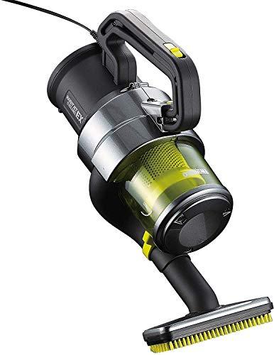 ツインバード ハンディークリーナー ハンディージェットサイクロンEX 掃除機 HC-E251GY メタリックグレー