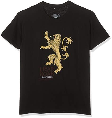 SD Toys Lannister T- T-Shirt, Noir (Negro 012), Small Homme