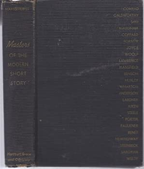 Hardcover Masters of the Modern Short Story Book