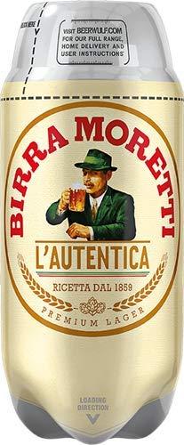 Les5CAVES - Birra Moretti L'Autentica - Fût The SUB Torp 2L