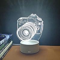 USB LEDランプスリープルーム 男の子 女の子 クリスマス 誕生日プレゼント-USB駆動-7色_カメラ