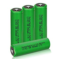 commercial Rechargeable Battery C, 6 Pieces, Keenstone 5000mAh Nickel Metal Hydride Battery C Large, Size C … rechargable c cell