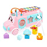 DHTOMC Kids Xylophone Children Piano Instrumento Musical Educational Xylophone Baby Snowdler Regalo para niños para Sus Hijos (Color: Rosa, Tamaño: 25x9x13cm) Xping (Color : Pink, Size : 25x9x13cm)
