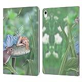 Head Case Designs Licenza Ufficiale Rachel Anderson Dolci Sogni Folletti Cover in Pelle a Portafoglio Compatibile con Apple iPad PRO 11 (2018)