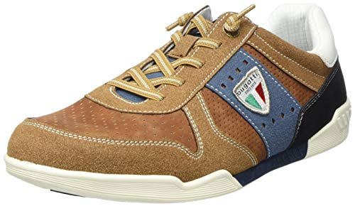 bugatti Herren 321926015400 Sneaker, Braun, 40 EU