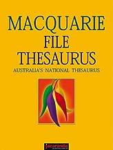 The Macquarie File Thesaurus (Macquarie Series)
