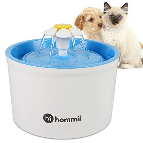Hommii Hommii Hp-88 Fontaine À Eau Pour Chat Et...
