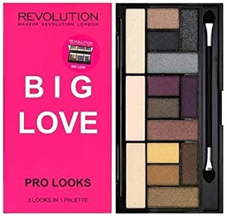 Makeup Revolution Pro Looks Eyeshadow Palette, Big Love