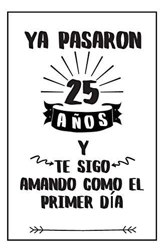 Regalo Para Aniversario: Regalos Para Bodas De Plata - Cuaderno De Notas...