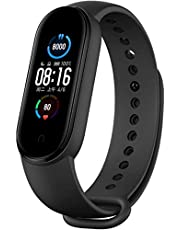 Xiaomi Nieuwe Band 5 - hartslagmonitor, slaapmonitor, vrouwelijke gezondheid, 11 trainingsmodi, 50 meter waterdicht, zwart (MI 3)