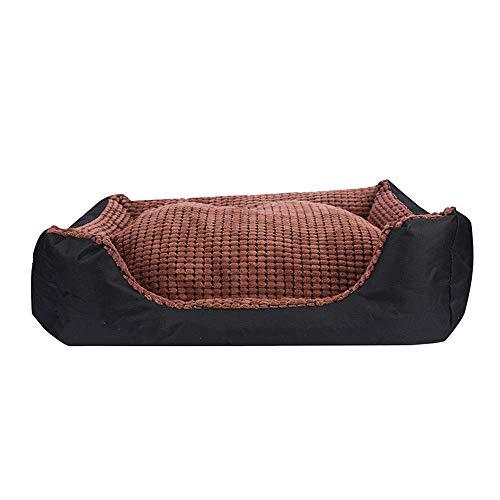 Suave Del animal doméstico cama del perro grande Sofá cama for Pequeña Mediana Grande banco perro Mats gato cachorro de Chihuahua cama de la perrera del gato doméstico de la casa Suministros, D, L (Co