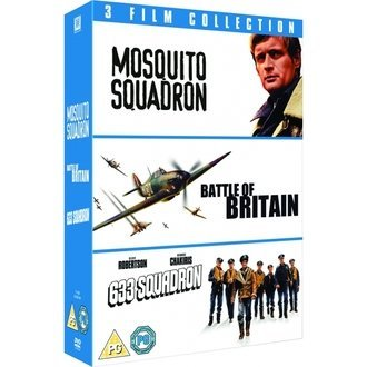 633 Squadron/Mosquito Squadron/Battle Of Britain 3 DVD Film Collection